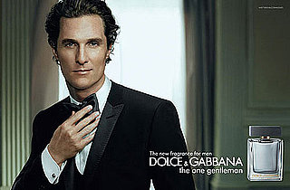 PopSugar Poll: Matthew McConaughey Suits Up For D&G — Looking hot or take your shirt off?