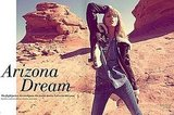 Anja Rubik and Boyfriend Sasha Knezevic Live the Arizona Dream, H&M Magazine, September '10