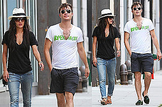 Pictures of Ed Westwick and Jessica Szohr Out in NYC Together
