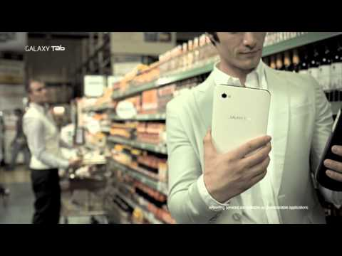 Galaxy Tab Ad and Details