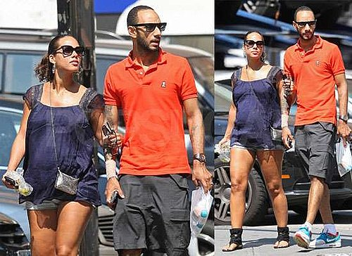 Pictures of Pregnant Alicia Keys With Swizz Beatz in New York