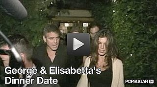 Video of George Clooney and Elisabetta Canalis in LA