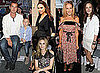 Victoria Beckham, Leighton Meester, Rachel Bilson, Sarah Jessica Parker, Diane Kruger etc at 2011 Spring New York Fashion Week