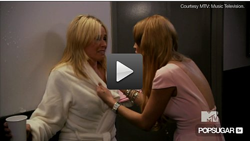 Video of Lindsay Lohan in Chelsea Handler's MTV VMA Opening 2010-09-12 21:58:50