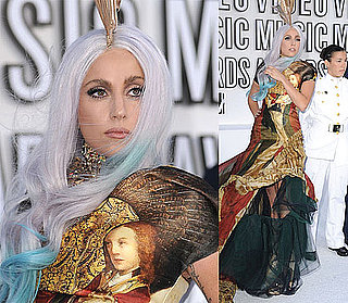 Pictures of Lady Gaga on 2010 MTV VMA Red Carpet 2010-09-12 17:28:26