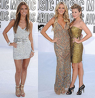 Pictures of Stephanie Pratt, Lo Bosworth and Audrina Patridge at 2010 MTV VMAs