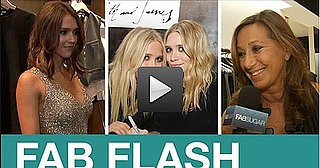 Video of Diane Kruger, Jessica Alba, Alexa Chung, Claire Danes at Fashion's Night Out