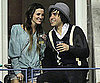 Slide Picture of Ashlee Simpson and Pete Wentz at the US Open in NYC