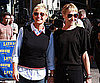 Slide Picture of Ellen DeGeneres and Portia de Rossi on Letterman