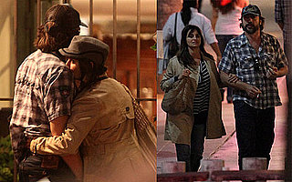Pictures of Penelope Cruz and Javier Bardem Being Affectionate in LA