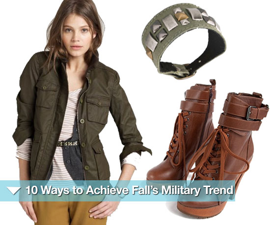 10 Ways to Achieve Fall's Military Trend
