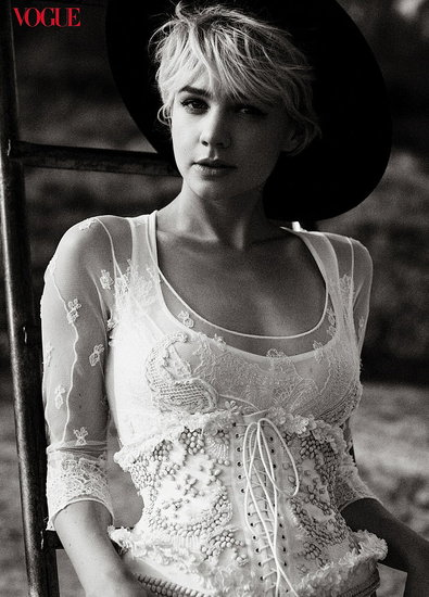 Carey Mulligan does Vogue-october 2010