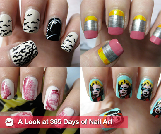 Blogger Creates New Nail Art Design Each Day For a Year