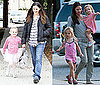 Pictures of Jennifer Garner, Violet, and Seraphina Hanging Out Close to Home While Ben Promotes in Venice