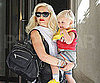Slide Picture of Gwen Stefani and Zuma Rossdale Leaving Their Hotel in NYC
