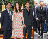 Ben Affleck, Rebecca Hall, Jeremy Renner and Jon Hamm Promoting The Town in Venice