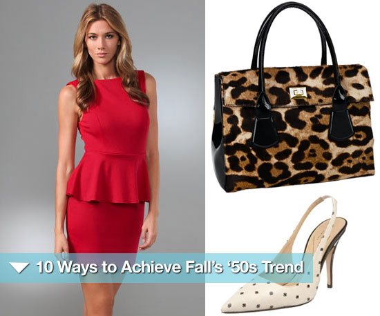 10 Ways to Achieve Fall's '50s Trend