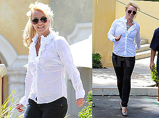 Pictures of Britney Spears Going For Lunch Amid Rumors of an NYFW Performance
