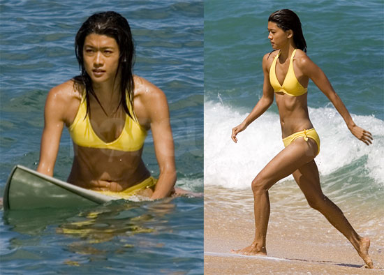 Hawaii Five-O Grace Park Bikini