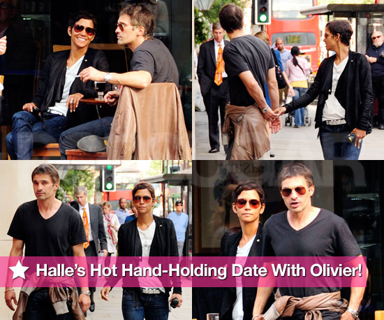 Pics: Halle Berry's Hot Hand-Holding Date With Olivier Martinez!