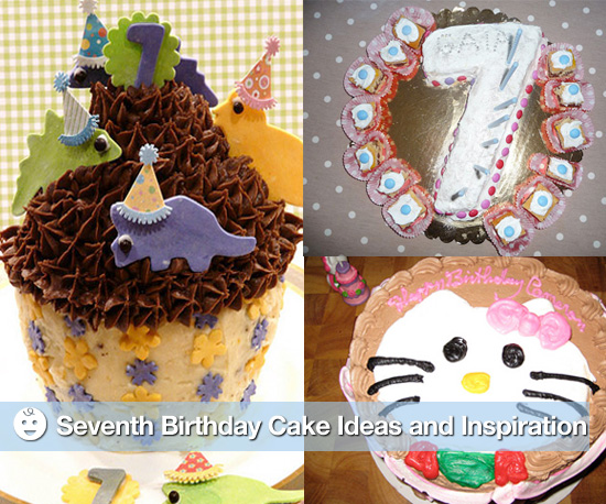 Seventh Birthday Cake Ideas and Inspiration