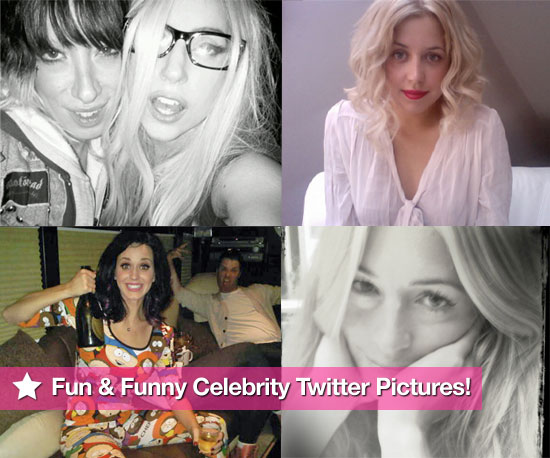 Lady Gaga, Peaches Geldof, Katy Perry, Cat Deeley & More in Fun & Funny Celeb Twitter Pictures