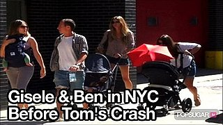 Video of Gisele Bundchen in New York With Benjamin Brady the Day Before Tom Brady Is Involved in a Car Crash 2010-09-09 10:44:37