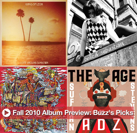 Fall 2010 Album Preview: Buzz's Picks