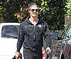 Slide Picture of Matthew McConaughey Leaving the Gym in LA