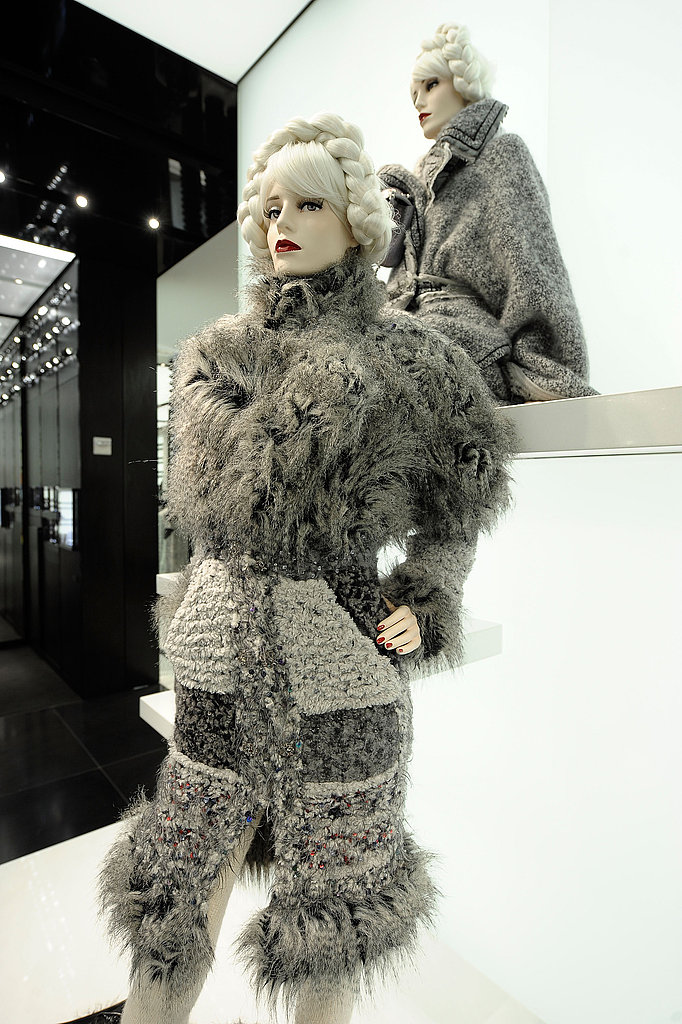 It's Winter wonderland wear, Chanel style.