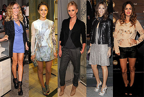 Jessica Alba, Sarah Jessica Parker, Diane Kruger, Halle Berry at 2010 Fashion's Night Out