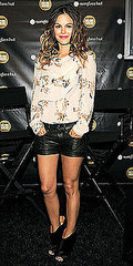 Spring '11: Rachel's Shorts Stop...From Bilson's leggy look to Szohr's front row friendship, see all the stars who sizzled