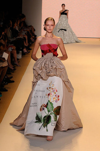 Spring 2011 New York Fashion Week: Carolina Herrera