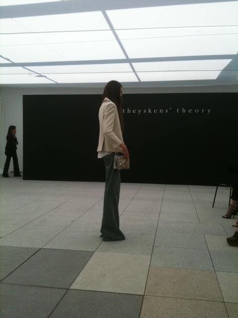 Olivier Theyskens Debuted His Theyskens' Theory Collection Today
