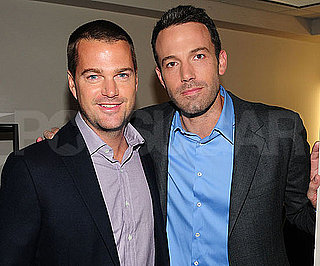 Slide Picture of Chris O'Donnell and Ben Affleck at The Early Show Studios in NYC