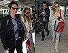 Pictures of Kate Hudson and Matt Bellamy at Heathrow