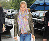 Slide Picture of Bar Refaeli Arriving at the US Open in NYC