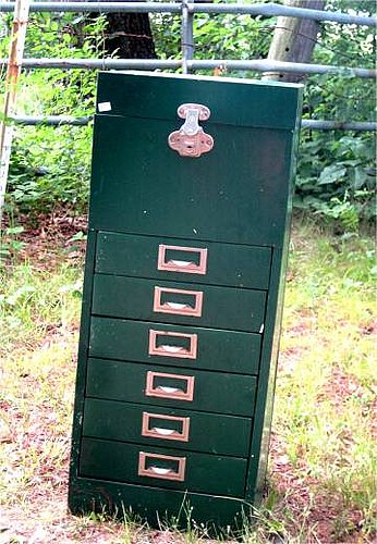 Tool chest turned jewelry armoire