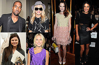 Pictures of Jessica Szohr and Leighton Meester During Fashion Week 2010-09-14 16:00:00