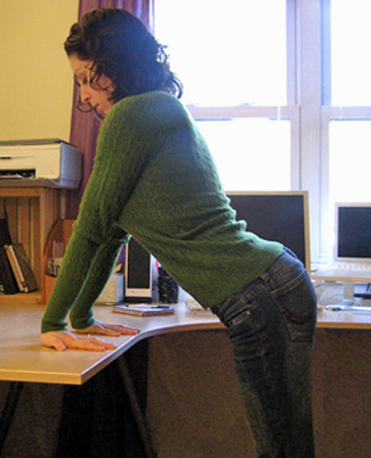 At Your Desk Wrist Stretch