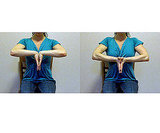 Palm-to-Palm Wrist Stretch