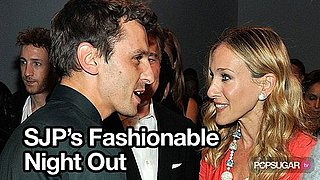 Video of Sarah Jessica Parker at New York Fashion Week For Halston