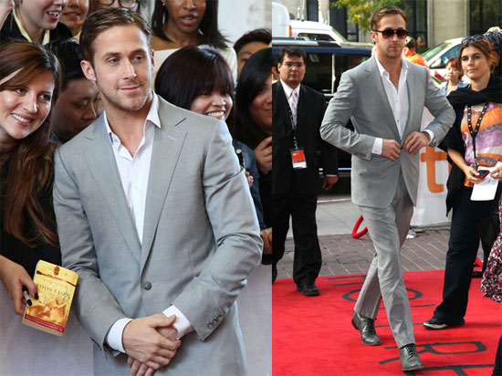 Ryan Gosling at the Toronto Film Festival Promoting Blue Valentine