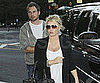 Slide Picture of Jessica Simpson and Eric Johnson at Barneys NY