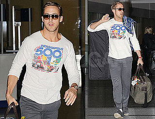 Pictures of Ryan Gosling Arriving in Toronto For Blue Valentine Premiere