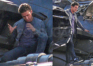 Pictures of Shia LaBeouf and Rosie Huntington-Whiteley on the Set of Transformers 3