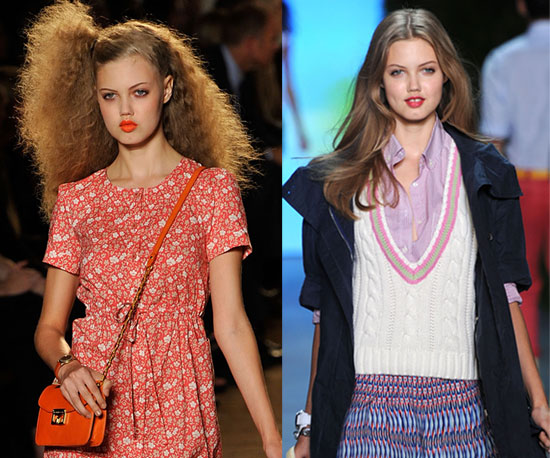 Pictures of Lindsey Wixson at New York Fashion Week
