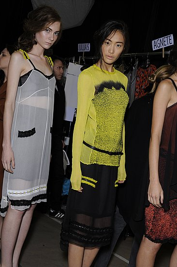 Backstage Photos from New York Fashion Week Spring 2011: Proenza Schouler, Anna Sui, 3.1 Phillip Lim, Ralph Lauren