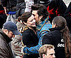 Slide Picture of Orlando Bloom and Miranda Kerr on Set in Germany