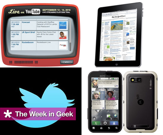 Top News and Stories This Week on GeekSugar 2010-09-18 04:00:17